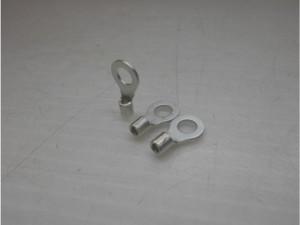 丸形圧着端子部品のスズメッキ加工事例
