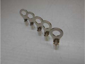 丸形圧着端子部品のニッケルメッキ加工事例