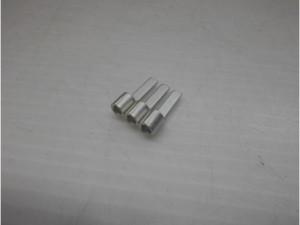ブレード形 圧着端子部品のスズメッキ加工事例