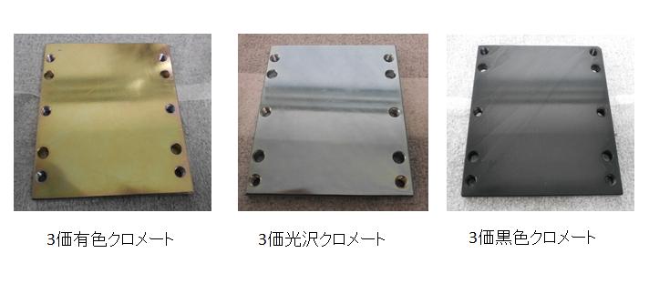 RoHS規制(6価クロム規制)に対応した亜鉛メッキのクロメート ...